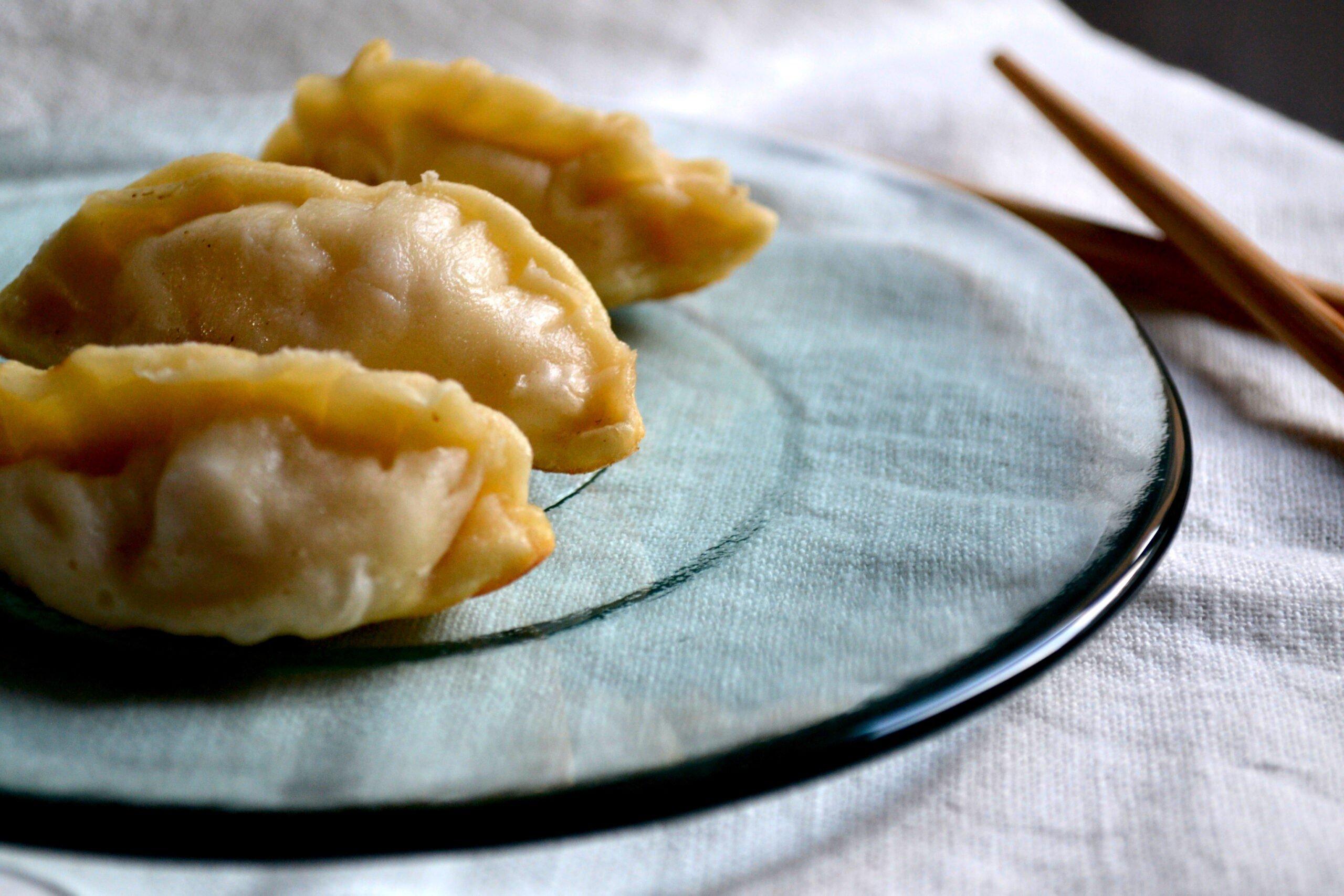 ravioli giapponesi di verdure risultato